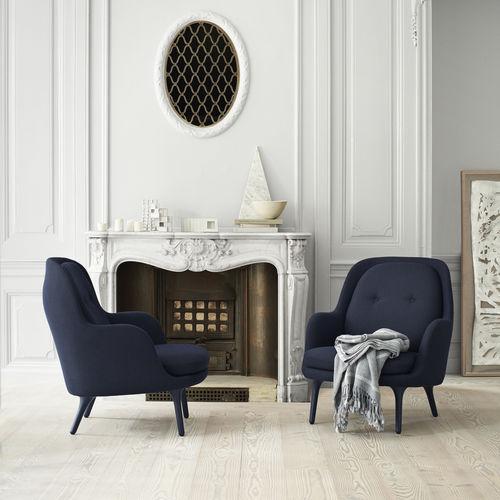 sillón contemporáneo / de tejido / aluminio / con reposapiés
