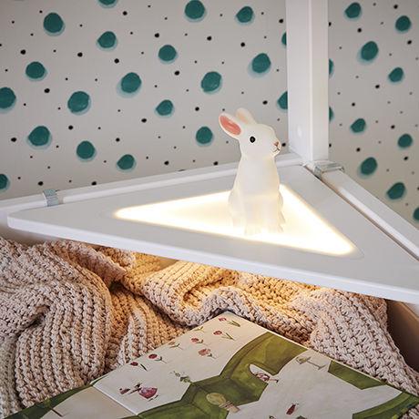 estantería de esquina / contemporánea / de abedul / para dormitorio de chico