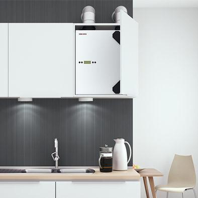 unidad de ventilación centralizada / residencial / para casa / para apartamento