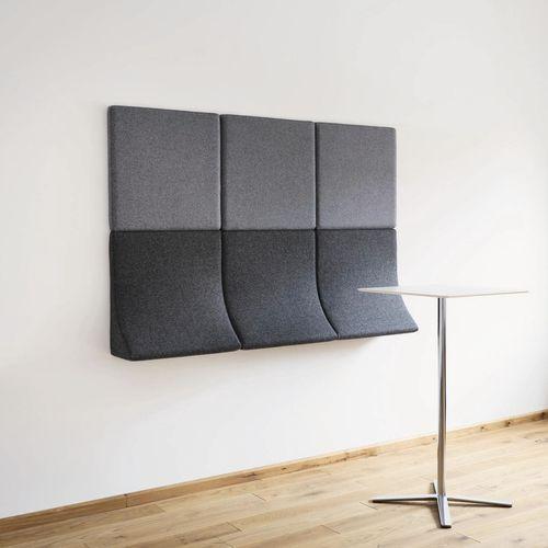 banqueta modular / de diseño original / de tejido / para centro de estética