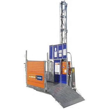 plataforma elevadora para obra
