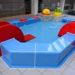 piscina sobre suelo / de plástico / para parque acuático / para niños