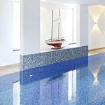 mosaico para piscina / para suelo / de gres porcelánico / cuadrado