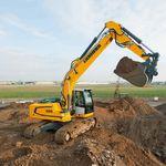 excavadora intermedia / con orugas / de demolición / para obra