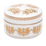 caja de almacenamiento de porcelana / con tapa