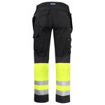 pantalón de trabajo / de alta visibilidad / de algodón / de Kevlar®
