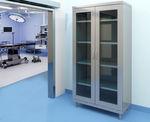 armario modular / moderno / de acero / con puertas batientes