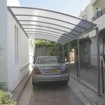 cubierta para aparcamiento de policarbonato
