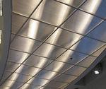 falso techo luminoso / de policarbonato / de fibra acrílica / tipo panel