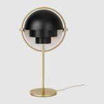 lámpara de mesa / contemporánea / de metal / de interior