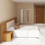 habitación de hotel contemporánea