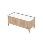 mueble de baño contemporáneo / de madera / con cajón / para uso residencial