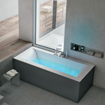 bañera integrada