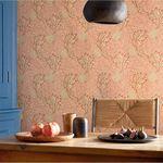 papel pintado contemporáneo / con motivos de la naturaleza / aspecto tela / gris