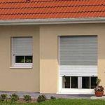 persiana exterior / de aluminio / de acero / de acero galvanizado