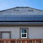 teja para módulo fotovoltaico