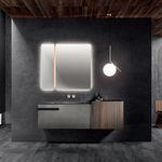mueble de lavabo mural