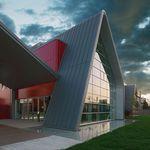 revestimiento de fachada para fachada ventilada / de cobre / de zinc-titanio / acanalado