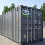 construcción en contenedores industrial