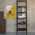 estantería moderna / de aluminio