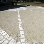 pavimento de hormigón / de tráfico / residencial / para espacio público