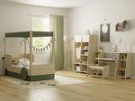 habitación para niños de madera lacada / MDF / de pino / unisex