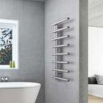 radiador toallero eléctrico / de agua caliente / de acero inoxidable / de acero
