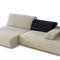 sillón bajo contemporáneo / de tejido / respetuoso con el medioambiente