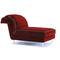 chaise longue contemporánea / de tejido