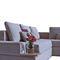 sofá modular / contemporáneo / de tejido / 5 plazas