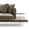 sofá contemporáneo / de tejido / de cuero / de Piero Lissoni
