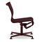 silla de oficina contemporánea / con patas en forma de estrella / con reposabrazos / tapizada