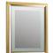 espejo para baño de pared / con luz / contemporáneo / rectangular