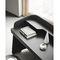 tocador moderno / de madera lacada / de cuero