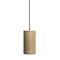 lámpara suspendida / contemporánea / de hormigón / regulable