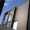 lámina de metal decorativa / acanalada / de zinc / para techado