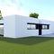 casa prefabricada / modular / contemporánea / de hormigón