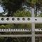 poste prefabricado de hormigón / prefabricado / rectangular