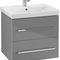 lavabo encastrable / rectangular / de cerámica / contemporáneo