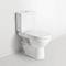 inodoro de pie / de cerámica / con cisterna empotrada