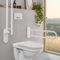 baño contemporáneo / de cerámica / para el sector servicios / a medida
