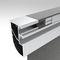 perfil de aluminio / de aluminio anodizado / para fachada textil / para protección solarAERO SFacade Textile International