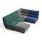 sofá modular / contemporáneo / de tejido / para escuela