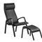 sillón contemporáneo / de cuero / de haya / de contrachapado