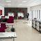 carrito de servicio / para bandejas de hostelería y restauración / para el sector servicios / laminado