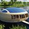 edificio flotante / prefabricado / de aluminio / estructura de madera