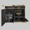 cocina con horno de gas / de leña / mixta / de hierro fundido
