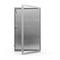 trampilla de inspección para pared / rectangular / de aluminio / de acero inoxidable