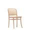 silla contemporánea / con reposabrazos / de haya / para salón