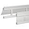 persiana exterior / de aluminio extruido / para ventana / con celosía